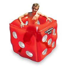 49 Water Sports Inflatable Red Tumbling Dice Swimming Pool Cube Roller >>> Visit the image link more details. Note:It is affiliate link to Amazon.