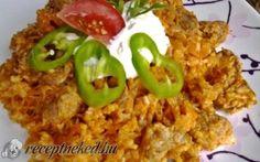 Húsos rizses káposzta recept Kautz Jozsef konyhájából - Receptneked.hu Food, Red Peppers, Essen, Meals, Yemek, Eten