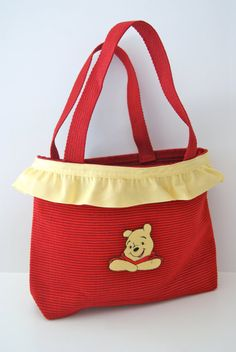 Pooh Inspired Tote Bag on Etsy, $23.00