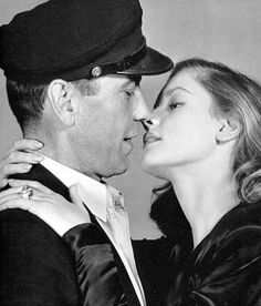 To Have and Have Not, Humphrey Bogart - Lauren Bacall Old Movie Stars, Classic Movie Stars, Humphrey Bogart, Lauren Bacall, Vintage Hollywood, Classic Hollywood, Divas, I Want You Love, Bogie And Bacall