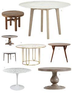 die besten 25 runde esstische ideen auf pinterest runde esszimmertische runder esstisch und. Black Bedroom Furniture Sets. Home Design Ideas