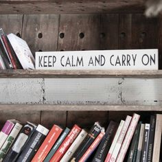 Image of Letrero: Keep Calm and Carry On