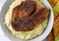 Ninja Foodi Fish and Grits. Delicious pressure cooker grits and fish in the Ninja Foodi pressure cooker air fryer combo. Easy one pot dinner. Ninja Recipes, Fish Recipes, Seafood Recipes, Dinner Recipes, Cooking Recipes, Cooking Fish, Recipies, Lunch Recipes, Girl Cooking