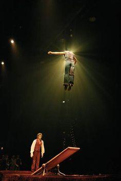 Cirque du Soleil.   Cirque Du Soleil's Corteo