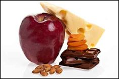 dash diet - list of snacks to carry with you that are diet friendly.