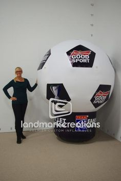 TEAM Coalition MLS Cup Inflatable Soccer Ball Replica