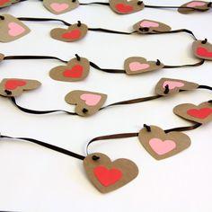 Valentine's Day Decoration Heart Garland