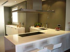 cocinas abiertas al salon - Buscar con Google