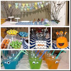 Monster birthday party!
