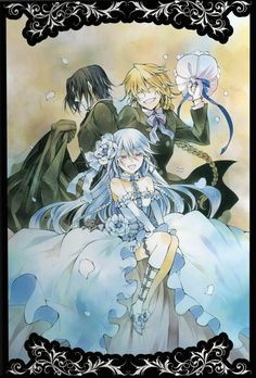 Oswald,Jack Vessalius,Intention of the Abyss - Pandora Hearts,Anime Manga Anime, Anime Art, Manga Art, Vanitas, Pandora Hearts Oz, Alice Cosplay, Hokusai, Photo Heart, Heart Art