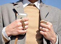 Milan Fashion Week, Jewellery Street Style, Adorn blog