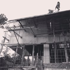 flamboyant house project. structural progress. #2015 #j+a