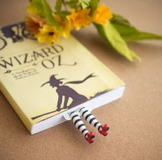 Cute Bookmarks That Make Tiny Legs Stick Out Of Your Book