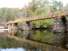 Alabama - High Falls Park is located in the NW corner of DeKalb County