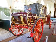 Royal wedding coach used by William and Catherine