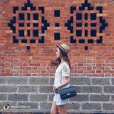 acookie4thecowboy:  repost via @instarepost20 from @itscamilleco Writing on the wall #ootd #Vietnam #angelbby #myoneandonly