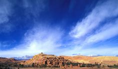 the famous Ait Ben Haddou in Morocco