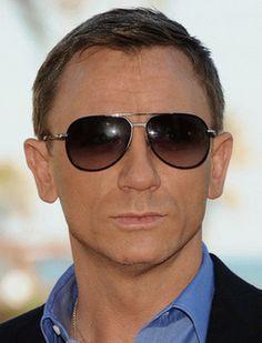 Daniel Craig in Tom Ford Aviators