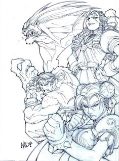 Playstation Magazine, Vol. 3 by Joe Madureira and Liquid!You can find Joe madureira and more on our website.Playstation Magazine, Vol. 3 by Joe Madureira and Liquid! Comic Book Artists, Comic Artist, Comic Books Art, Artist Art, Adult Coloring Pages, Coloring Books, Comic Book Layout, Joe Madureira, Anime