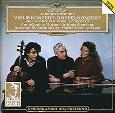 BRAHMS Violinkonzert Doppelkonz. - Mutter / Karajan -  Deutsche Grammophon