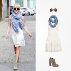 73515d4c940 Julianne Hough s bay-bright ensemble is a terrific transition outfit from  spring to summer.