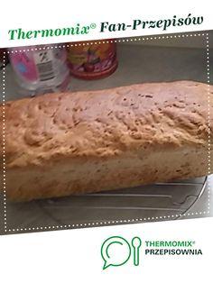Chleb jest to przepis stworzony przez użytkownika Monika Siarnacka. Ten przepis na Thermomix<sup>®</sup> znajdziesz w kategorii Chleby & bułki na www.przepisownia.pl, społeczności Thermomix<sup>®</sup>. Maki, Banana Bread, Cheese, Food, Thermomix, Essen, Meals, Yemek, Eten