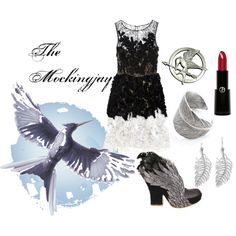 """Katniss Everdeen - The Mockingjay"" Follow the link to find other hunger games inspired outfits"