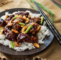 This cashew chicken is deliciously spicy and savory, and tastes almost exactly like The Cheesecake Factory's recipe. You won't want takeout anymore!