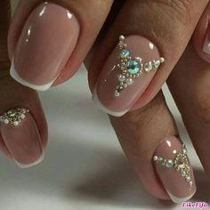 Uñas para novia… bridess nails. Boda.