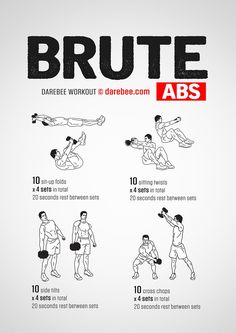 Brute Abs Workout