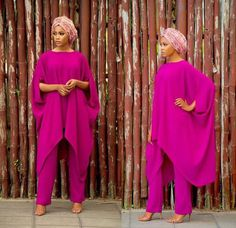 Two piece Maxi Top and Slim fit Pants African Fashion Ankara, African Inspired Fashion, African Print Dresses, African Dress, African Lace, African Attire, African Wear, African Women, Abaya Fashion