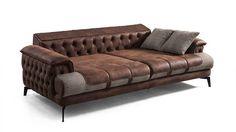 Bugatti Modern Koltuk Takımı - New Deko Sites Shabby Chic Bedroom Furniture, Diy Furniture Couch, Vintage Sofa, Shabby Vintage, Sofa Design, Cheap Furniture Online, Wood Sofa, Luxury Sofa, Contemporary Sofa