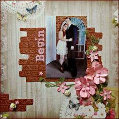 Couture Creations: Guest Designer Patti Hamil | #couturecreationsaus #scrapbooking #decoartivedies #embossingfolders