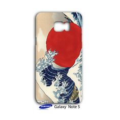 Great Wave Off Kanagawa Samsung Galaxy Note 5 Case Cover Wrap Around