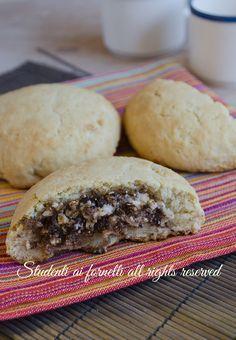 biscotti ripieni ricotta e cioccolato ricetta dolci biscotti di frolla facili
