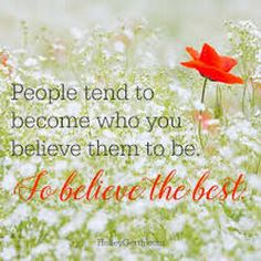 Always Believe the Best - God's Message Today Negative Thoughts, Positive Thoughts, Positive Quotes, Random Quotes, Christian Encouragement, Words Of Encouragement, Get Closer To God, Moving To Florida, Always Believe