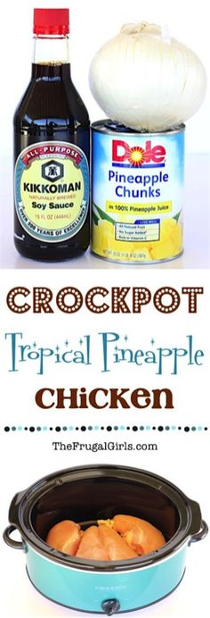 Crock Pot Tropical Pineapple Chicken Recipe