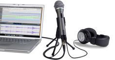 Samson USB/XLR Dynamic Microphone Recording and Podcasting Pack (Includes Mic Clip, Desktop Stand, Windscreen and Cables) Home Recording Studio Setup, Recording Studio Equipment, Singing Microphone, Usb Microphone, Pc Computer, Laptop Computers, Voice Recorder, Hardware, Shopping
