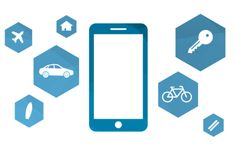 Das Smartphone spielt eine wichtige Rolle für die urbane Mobilität