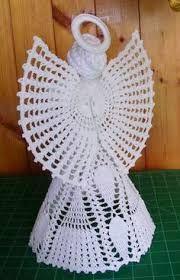 Image result for anjos de natal em croche