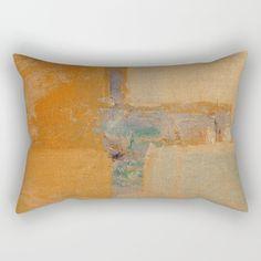 River Mouth Rectangular Pillow