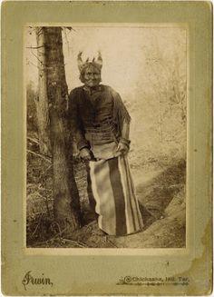 Geronimo - Chiricahua Apache - 1897. Photograph by William E. Irwin, Chickasha Indian Territories