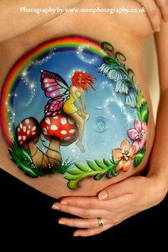 Beautiful airbrush work