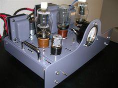 Very nice DIY tube amplifier.