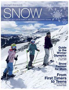 Family ski guide, the best tips and tricks to plan a family ski trip. MomTrends.com #ski #familytravel #skitrip #familyski