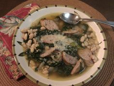Baker Becky: White Bean, Sausage and Kale Soup