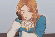 (´・ω・`) Ben Drowned, Zelda Drawing, Princesa Zelda, Demon Wolf, Botw Zelda, Hyrule Warriors, Legend Of Zelda Breath, Wind Waker, Fantasy Characters