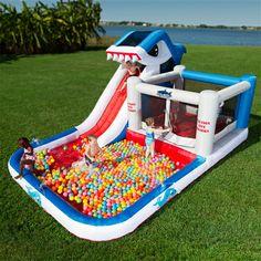 Shark Park Inflatable Play Park