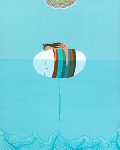 Art Print  Buoy by laurageorge on Etsy