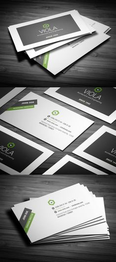 Business Card Design -like the type treatments